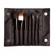 Набор синтетических кистей 7 штук Sleek MakeUp BRUSH SET: фото