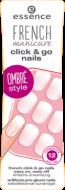 Накладные ногти на клейкой основе French Manicure Click & Go Nails Essence 03 girls just wanna have fun!: фото