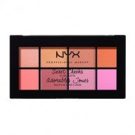 Палетка румян NYX Professional Makeup SWEET CHEEKS BLUSH PALETTE 01: фото