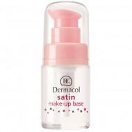 Матирующая база под макияж с выравнивающим эффектом Dermacol Satin make-up base: фото