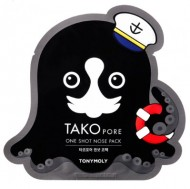 Патч для носа TONY MOLY Tako pore one shot nose pack 1 шт.: фото