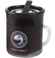 Крем-скраб для лица латте TONY MOLY Latte art cappuccino cream in scrub 80 гр.: фото