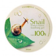 Гель FoodaHolic Snail Firming and Moisture Soothing Gel, 300мл, FoodaHolic: фото