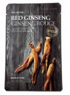Маска с экстрактом красного женьшеня THE FACE SHOP Real mask sheet snow red ginseng 20г: фото