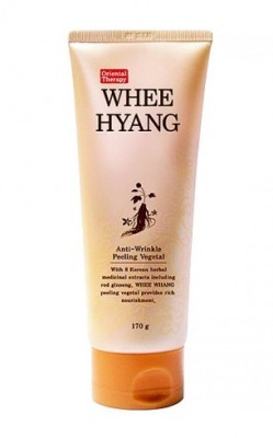 Пилинг с красным женьшенем DEOPROCE Whee hyang anti-wrinkle peeling vegetal 170 г: фото