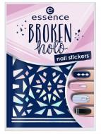 Наклейки для ногтей ЕSSENCE Broken Holo 12: фото