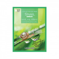 Тканевая маска с экстрактом улитки Lebelage Snail Natural Mask, 23г: фото