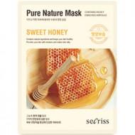 Маска для лица тканевая Secriss Pure Nature Mask Pack-Sweet honey 25мл: фото