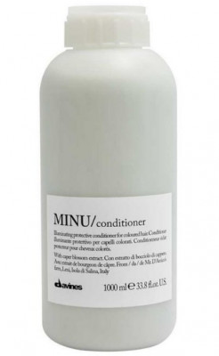 Кондиционер защитный для сохранения косметического цвета волос Davines MINU conditioner 1000 мл: фото