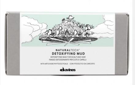 Детоксирующая глубоко очищающая грязь Davines Detoxifying Mud 6*50мл: фото