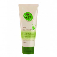 Пенка для умывания Welcos Cleansing Story Foam Cleansing Aloe120g 120гр: фото