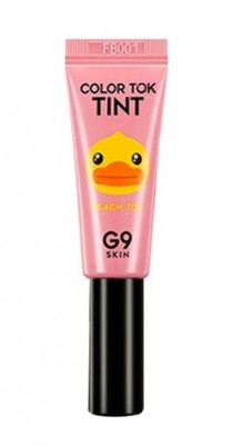 Тинт для губ Berrisom G9 skin Color Tok Tint 04 PeachTok 5мл: фото