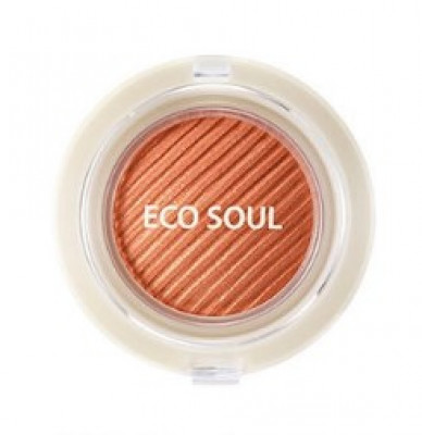 Тени гелевые для век THE SAEM Eco Soul Swag Jelly Shadow 5 Don't worry 4,8г: фото