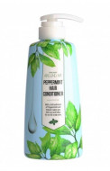 Кондиционер для волос Welcos Around me peppermint Hair Conditioner 500мл: фото