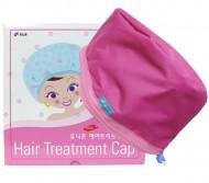 Термошапка для сушки, укрепления и ламинирования волос Hair treatment cap: фото