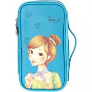 Косметичка FASCY PUNGSEON Tina PU Beauty Pouch (blue): фото