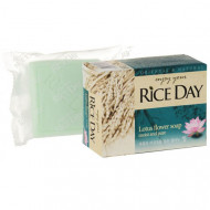 Мыло CJ Lion Rice day с экстрактом лотоса 100г: фото