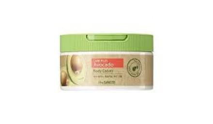 Крем для тела с экстрактом авокадо The Saem Care Plus Avocado Body Cream 300мл: фото