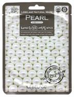 Тканевая маска Осветляющая с экстрактом белого жемчуга LEBELAGE Pearl Natural Mask: фото