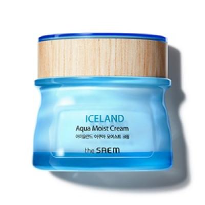 Крем-гель для лица увлажняющий THE SAEM Iceland Aqua Gel Cream 60 мл: фото