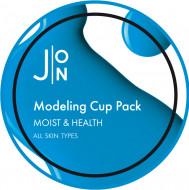 Альгинатная маска УВЛАЖНЕНИЕ И ЗДОРОВЬЕ J:ON MOIST & HEALTH MODELING PACK 18г: фото