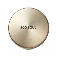 Пудра компактная золотая сменный блок THE SAEM Eco Soul Luxury Gold Pact 23 Natural Beige(Refill): фото