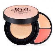 Мульти-палетка для макияжа THE FACE SHOP MULTI SWING CUSHION V201: фото