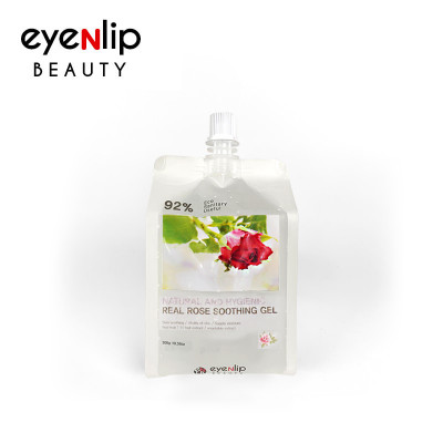 Гель для тела увлажняющий Eyenlip NATURAL AND HYGIENIC REAL ROSE SOOTHING GEL 300гр: фото