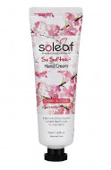 Крем для рук с ароматом вишни Soleaf So Softee Hand Cream Cherry Blossom 50 мл: фото