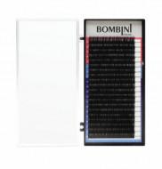 Ресницы Bombini Черные, 20 линий, изгиб L - MIX (7-14) 0.10: фото