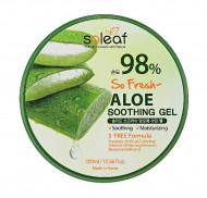 Гель успокаивающийс алоэ Soleaf So Fresh Aloe Soothing Gel 300 мл: фото