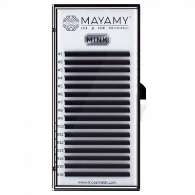 Ресницы MAYAMY MINK 16 линий D 0,05 11 мм: фото