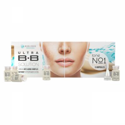 Набор сывороток BIOLIQUE PROFESSIONAL ULTRA BB Solution 1, 5x5мл: фото